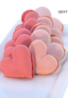 A prettier heart shaped macaroon