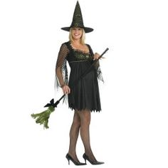 #maternity #witch #costume Mommy To Be Witch Adult Costume
