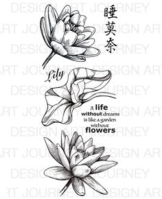Lily | Art Journey stamps | Art Journey