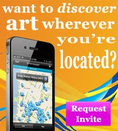 If you want to discover art, request an invite to artsnapper - an art discovery tool! #art, #artsnapper, #findingart