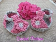 Crochet Baby Booties Free Easy Baby Crochet Patterns | Free Crochet Baby Patterns...