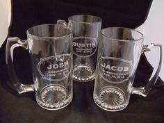 Engraved Glassware :