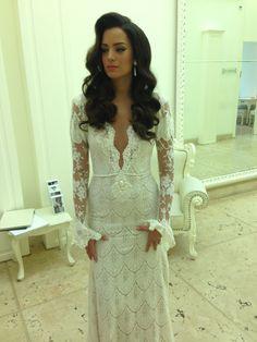 Beautiful Reut - a Berta bride - 2nd wedding dress ❤