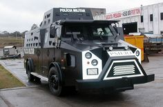 Police tactical vehicle