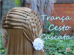 Trança Basket Braid - Telma tranças - YouTube