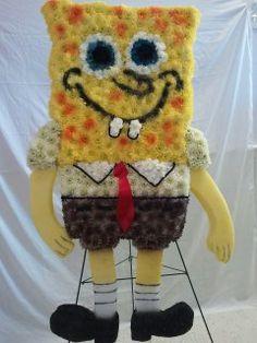 Spongebob. custom funeral flowers #leavewell