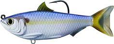 "LiveTarget TFS115MS703 Threadfin Swimbait 4.5"" Green & Bronze  http://fishingrodsreelsandgear.com/product/livetarget-tfs115ms703-threadfin-swimbait-4-5-green-bronze-2/  TFS115MS703 697713209471"