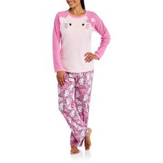 Hello Kitty Women's Drop Seat One Piece PJ | ♡ Available at ...