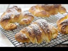 CÓMO HACER CROISSANT (cruasanes) CASEROS   Cocinando con CatMan - YouTube