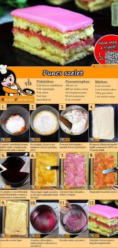 Dessert Cake Recipes, Dessert Drinks, Christmas Dishes, Tasty, Yummy Food, Hungarian Recipes, Winter Food, Other Recipes, Relleno