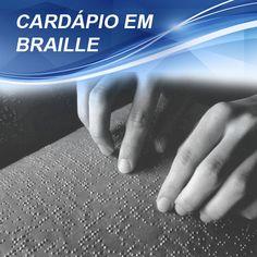Cardápios em Braille são obrigatórios em todos os estabelecimentos que comercializam refeições como, por exemplo, restaurantes, bares, lanchonetes e hotéis.  Leia a matéria completa e saiba como regularizar seu estabelecimento: http://www.registercorp.com.br/cardapio-em-braille/