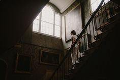 Moody Bridal Portrait Session in England