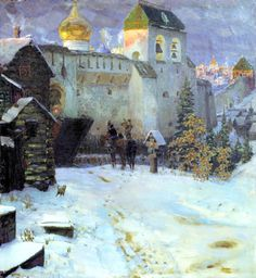 Vasnetsov Apollinary - Old Russian Cities. 200 Russian painters • download painting • Gallerix.ru