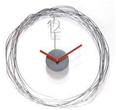 wire clock
