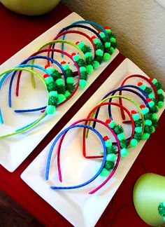 The Very Hungry Caterpillar Headbands - Birthday Party Favors