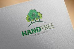 Check out Hand Tree Logo by samedia on Creative Market