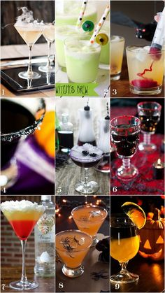 Halloween Cocktail Recipes Hosting a Halloween party means you need one of these spooky Halloween cocktails to serve up to. Halloween Cocktails, Halloween Snacks, Spooky Halloween, Theme Halloween, Holidays Halloween, Halloween Costumes, Witch Costumes, Winter Cocktails, Halloween Halloween