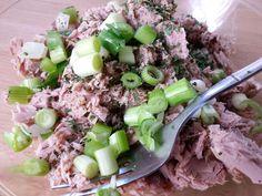 Close-Up Of Tuna Salad