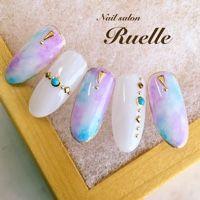 Ruelleさんも使ってるネイルブック。毎日最旬新着ネイル続々♪流行のデザインが丸わかり!