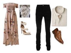 """Lean On Me"" by megalee ❤ liked on Polyvore featuring MANGO, AMIRI and Alfani"