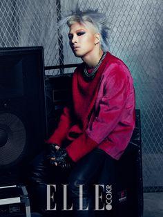 Big Bang Tae Yang - Elle Magazine November Issue '13