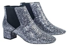 Andre Silver Glitter-tastic Ankle Boots. Get the must-have boots of this season! These Andre Silver Glitter-tastic Ankle Boots are a top 10 member favorite on Tradesy. Save on yours before they're sold out!