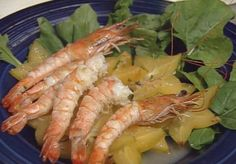 Grilled Shrimp and Star Fruit Salad ► - Great Chefs