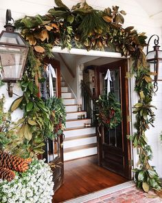 53 Beautiful Christmas Front Door Decor Ideas That Arent The Least Bit Tacky