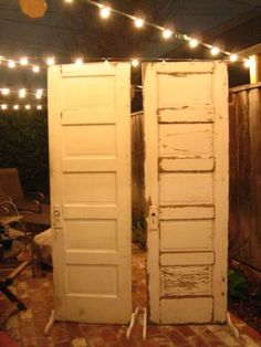 vintage doors for back drop
