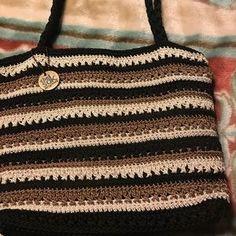 The Sak hand crocheted handbag.