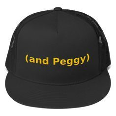 And Peggy Trucker Cap And Peggy, Cool Fabric, Rid, Baseball Hats, Style, Atelier, Swag, Baseball Caps, Baseball Hat