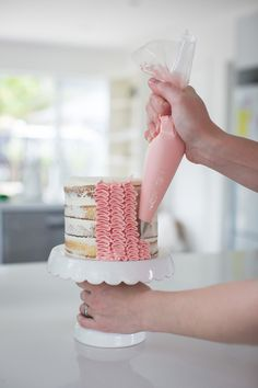 Ruffle Cake | Made From Scratch