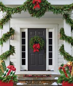 2020 Christmas Porch Decorating Ideas 400+ Christmas Porch Decorating ideas in 2020 | christmas porch