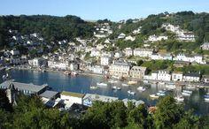 Town of Looe, Cornwall, England Looe Cornwall, Devon And Cornwall, Cornwall England, Kingdom Of Great Britain, British Isles, Holiday Destinations, Enchanted, Places Ive Been, Coastal
