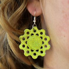 How To Make DIY Earrings Out of Paper