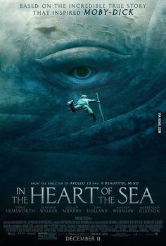 Heart of the sea | #movies #posters #heartofthesea