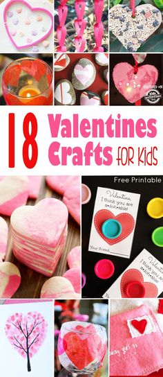 18 Valentines Crafts For KIDS To Make This Valentine's Day!