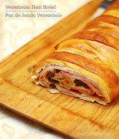 Pan de Jamón venezolano - Venezuelan Ham Bread