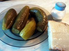 Kvašáky ako ich robím ja (fotorecept) Pickles, Cucumber, Pesto, Homemade, Canning, Ale, Food, Home Made, Ale Beer