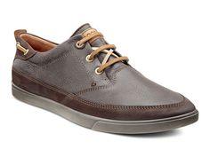 ECCO Collin Nautical Sneaker in MOCHA/COFFEE (58500)