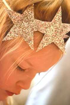 Stars hair band - Nativity Diy How to Make Nativity Star Costume, Diy Nativity, Christmas Nativity, Christmas Pageant, Christmas Program, Christmas Concert, Christmas Shows, Christmas Star, Christmas Crafts