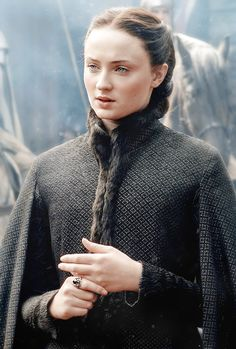 "stormbornvalkyrie: ♕ Sansa | Game of Thrones 5.03 ""High Sparrow"" {x}"