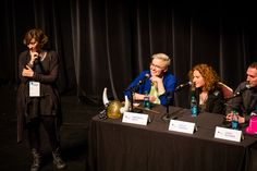 Author Panel With Kami Garcia, Veronica Roth, Gayle Forman & James Dashner David Strauss Photography
