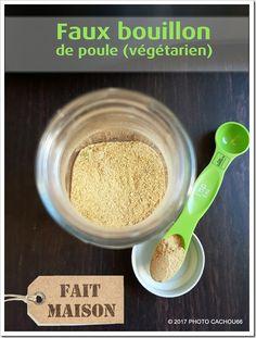 Faux bouillon de poule déshydraté (Végétarien)