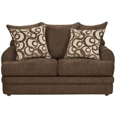 Flash Furniture Exceptional Designs Chenille Loveseat