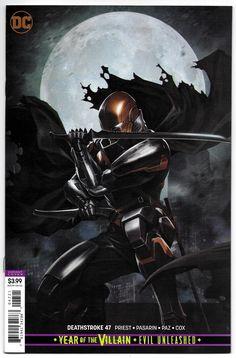 Slade Wilson (Dark Multiverse: Deathstroke: R. Dc Deathstroke, Deathstroke The Terminator, Deathstroke Cosplay, Comic Books Art, Comic Art, Book Art, Marvel, Gotham, Comic Character