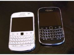 Blackberry bold -white and blackberry curve