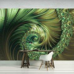 Fototapete Tapete Poster 067704FW Geometrie 3D Abstraktion und Kunst