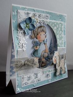 luv this tent card...almost like a diorama in miniature...