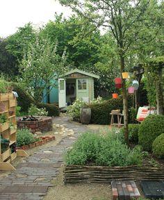 kleine tuin ontwerpen